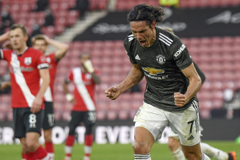 Cavani proves he is Man Utd's best bet as lead striker