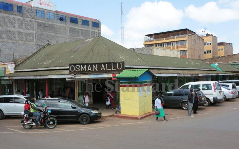 Century-old Osman Allu shop pointer to town's rich history