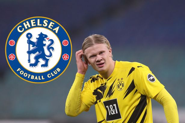 Chelsea being linked with a shock move to sign Erling Haaland from Borussia Dortmund