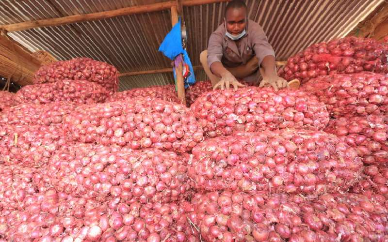 China swamps Kenya with onions