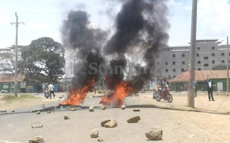 Clashes erupt in Rumuruti as more schools reopen in Ol Moran