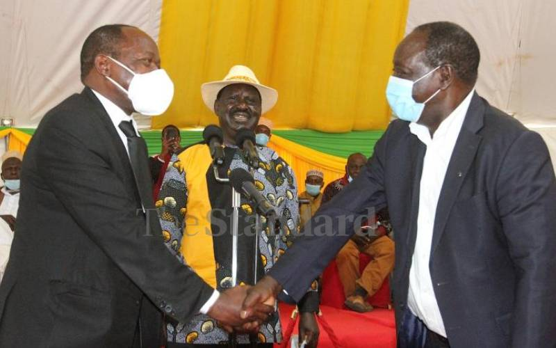 Confusion over ODM leader's tour of Western region