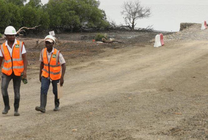 Construction of Sh28b Dongo Kundu bypass road in Mombasa begins