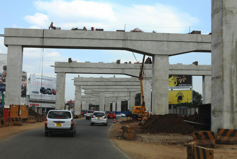 Contractor set to open closed sections under construction on Mombasa Road
