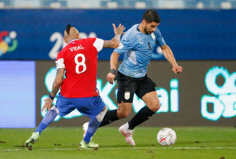 Copa America: Vidal own goal breaks Uruguay drought in 1-1 draw with Chile
