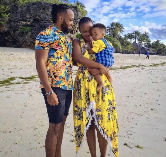 Corazon Kwamboka celebrates son's first birthday