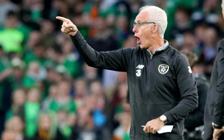 Coronavirus: Ireland manager McCarthy in 'very frightening' situation