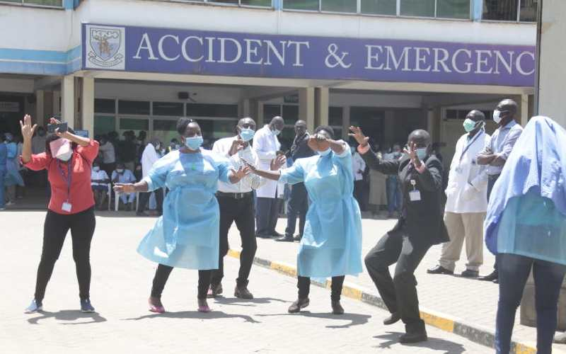 Death, tears and pain over KNH crisis