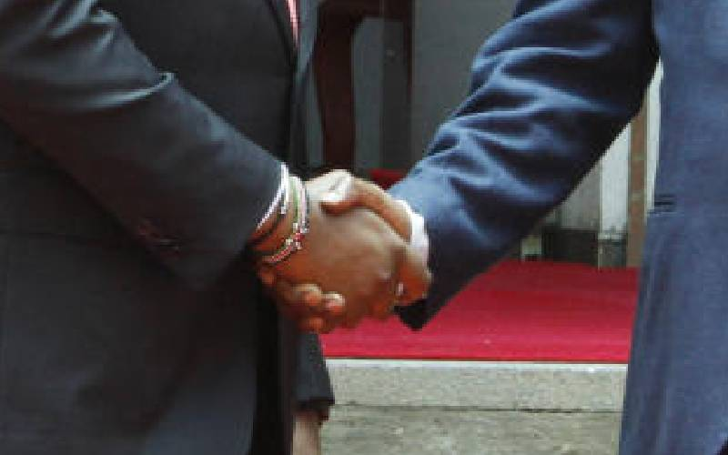 Delink handshake from county funds politics