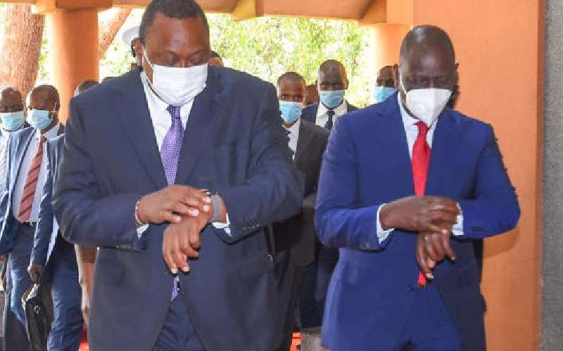 DP Ruto pain over Uhuru-NASA plan