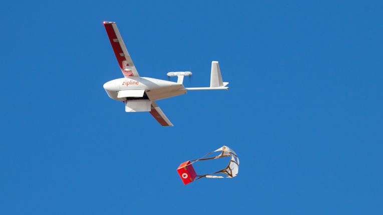 Drones flying to your rescue
