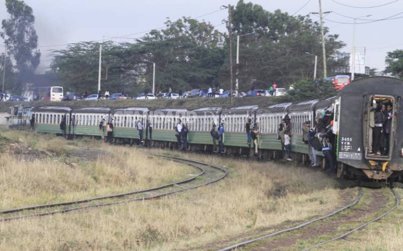 Efficient train commuter service best solution to city traffic jams
