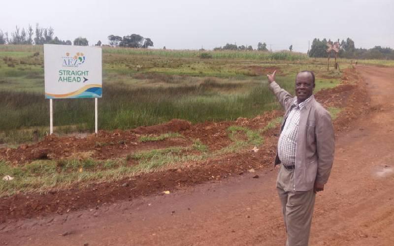 Eldoret still waits creation of Sh200b industrial park
