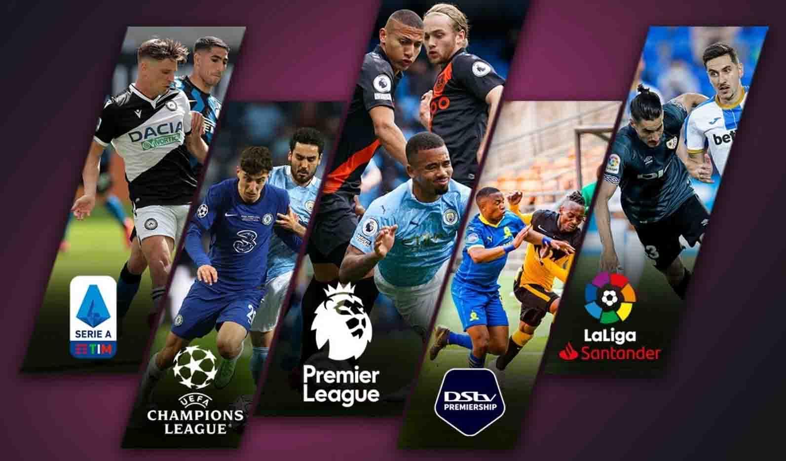 Enjoy all the Premier League action on the Showmax app