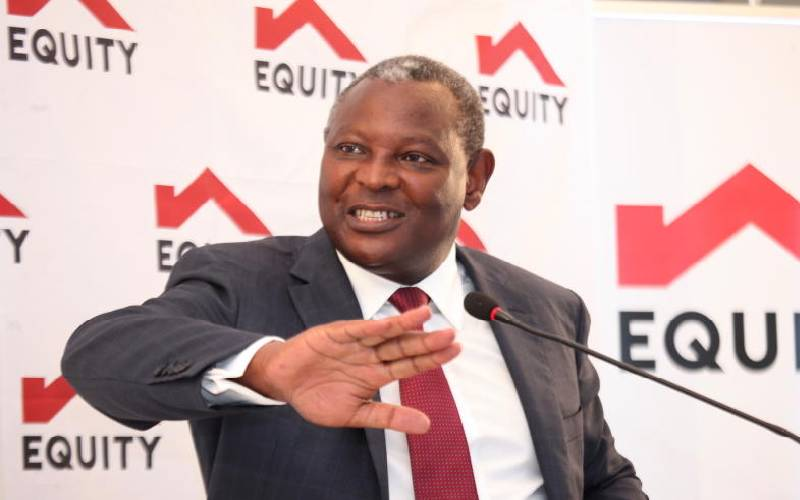 Equity buys Sh10b stake in DRC bank