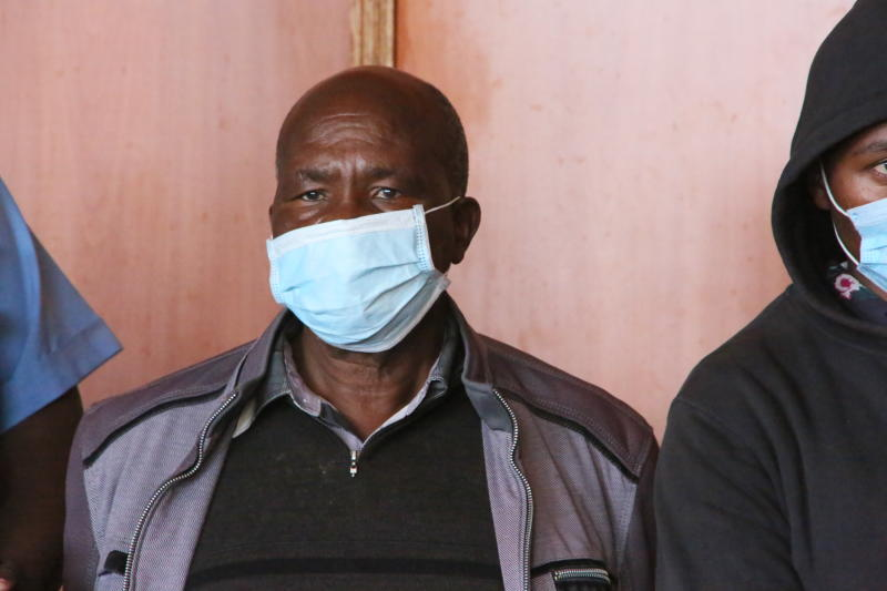 Father, four suspects deny killing son