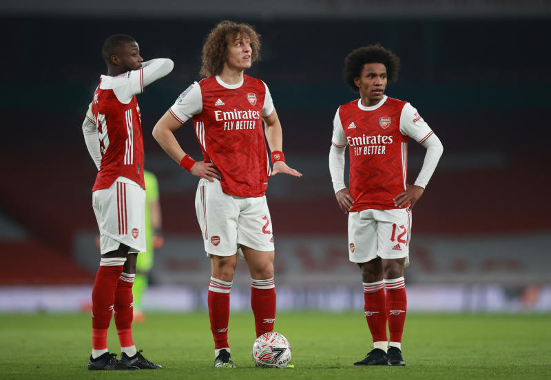 Five players who could leave Arsenal before the end of January transfer window