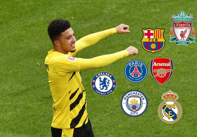 Five possible transfer destinations for in-demand Sancho