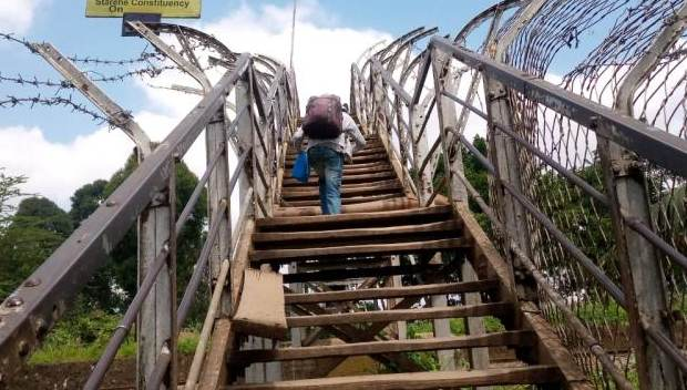 Fix this footbridge before it kills someone- Muthurwa residents