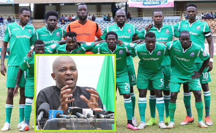 Mwendwa's decision to declare Gor Mahia champions unchallenged as SDT dismisses KPL petition