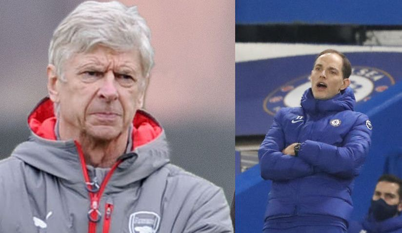 Former Arsenal boss Arsene Wenger predicts Chelsea's final Premier League position