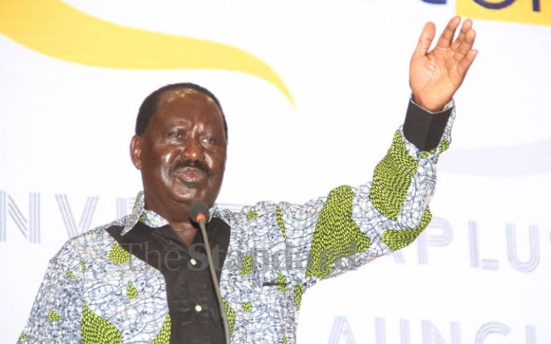 Fourth industrial revolution will be driven by technology – Raila