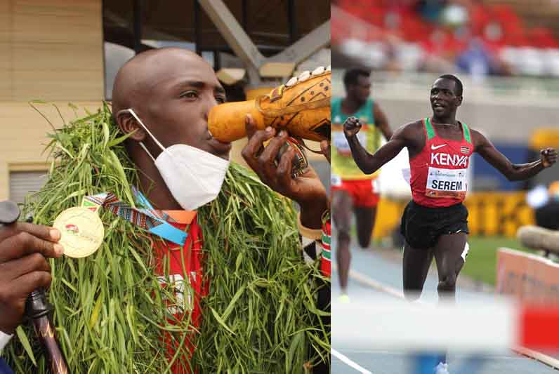 From running in sandals to big victories – The story of Amos Serem