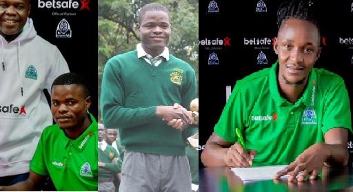 Gor complete signing of teenage sensation striker Omalla and Goalkeeper Njau