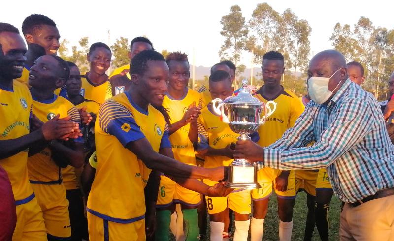 Harambee Stars legends praise youth as Joto Kali win legends tournament