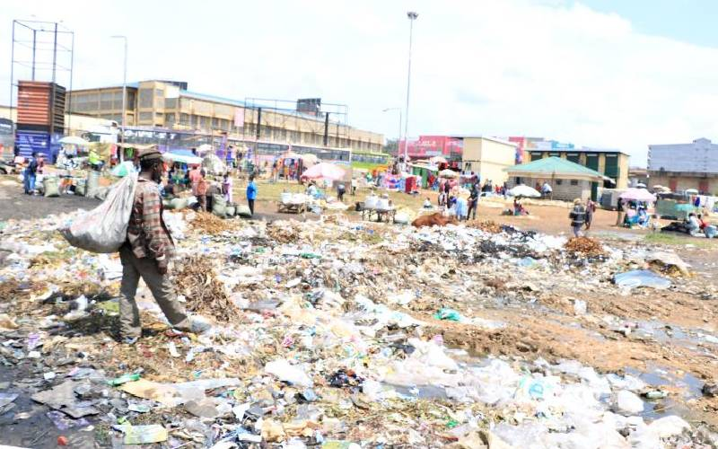 How garbage has robbed Kakamega of its beauty