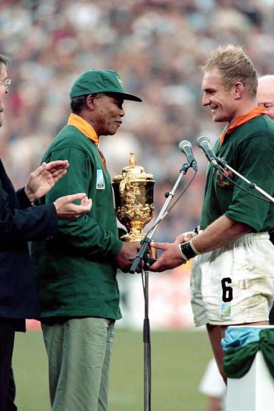 How Mandela inspired Springboks to conquer the world