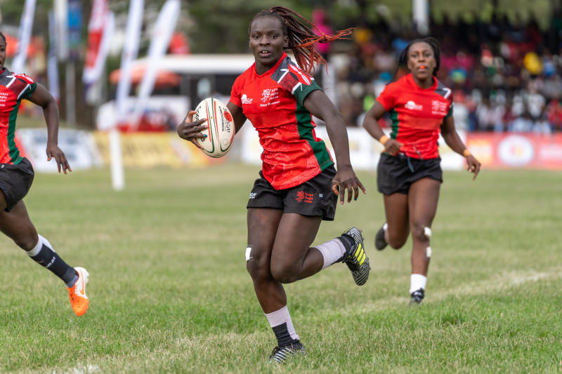How rugby gave Kenya Lionesses star Grace Okulu a second chance