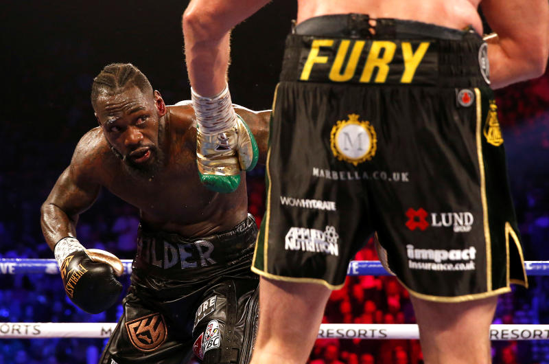 How Wilder broke three-month silence to send message to Fury