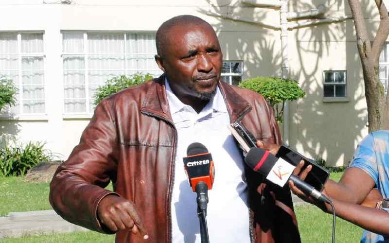 I legally acquired Ngong Forest land, Ngunjiri tells CS Tobiko