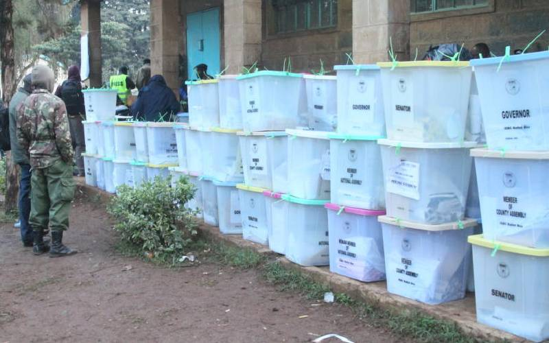 IEBC awards Greek company tender to print ballot papers