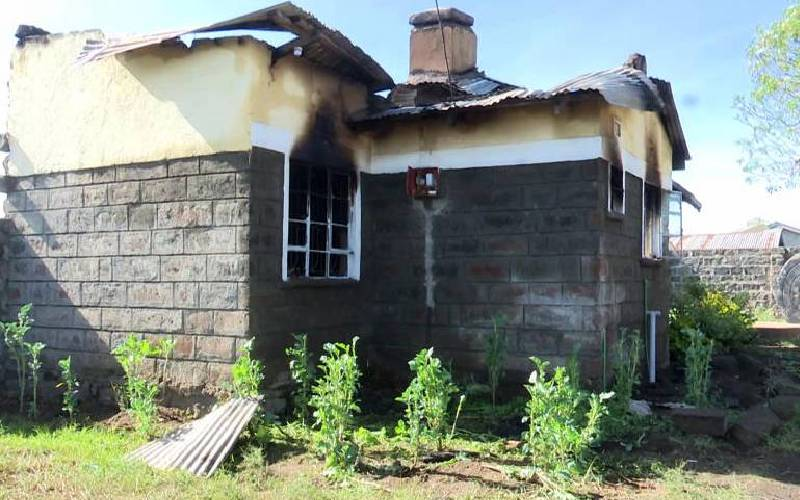 IG Mutyambai pledges support to officer who lost three children in fire