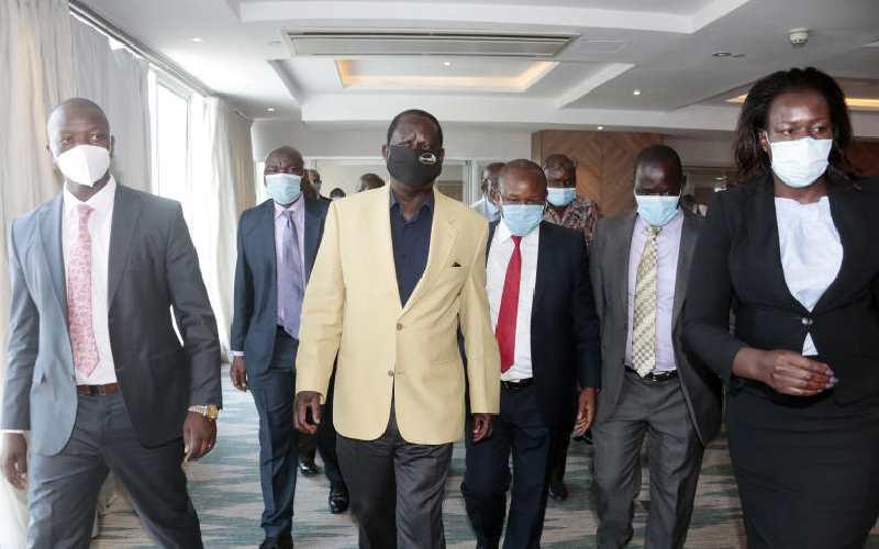 Inside Uhuru, Raila plan to collect 5 million signatures