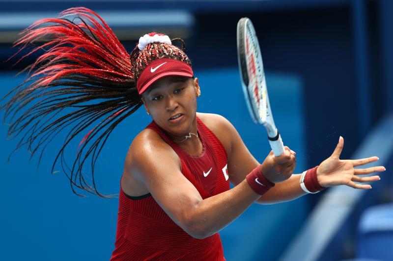 Japan's Naomi Osaka shocked in Tokyo Olympics third round