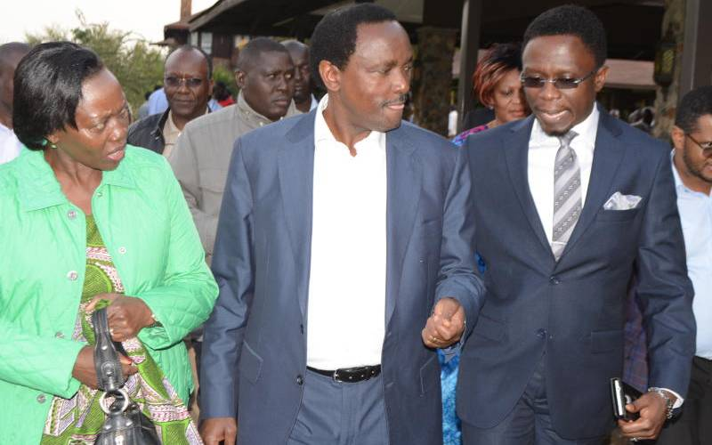 Kalonzo, Karua case reveals fierce battle for coveted title