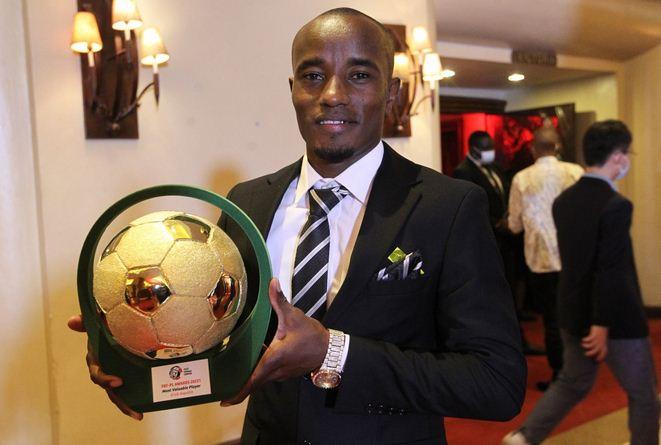 Kariobangi Sharks striker Erick Kapaito wins 2020/21 FKF Premier League Most Valuable Player