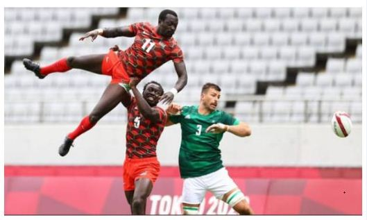 Kenya 7s bow out of the Olympics after defeat to Ireland, tearful Amonde speaks