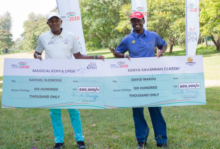 Kenya Open: Players awarded for their exploits on the course