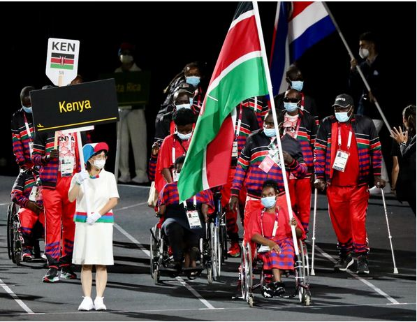 Opening Ceremony: Kenya takes her pride of place as 2020 Tokyo Paralympic Games begin