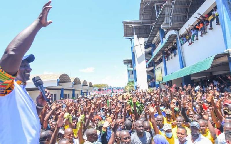 Kongowea traders want Ruto's Sh2 million donation probed