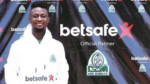 KPL side Gor Mahia sign Burundian international Jules Ulimwengu