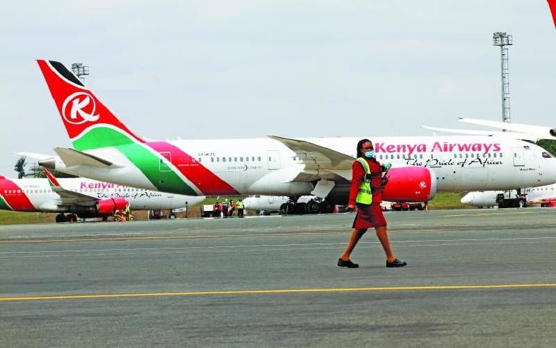 KQ's Sh500m stuck in its foreign accounts
