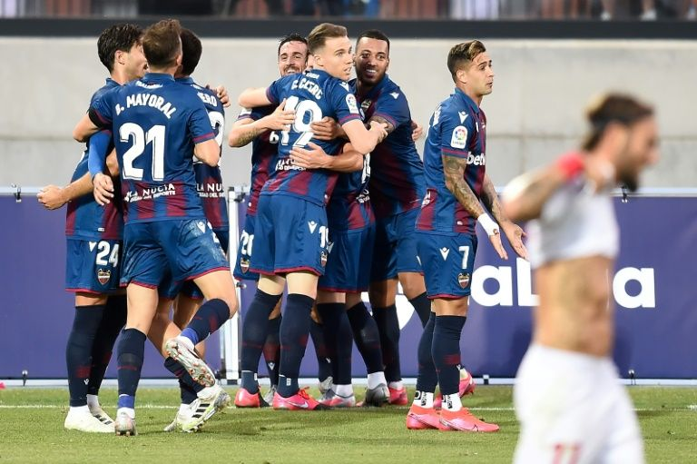 Late Carlos own goal gives Levante 1-1 draw with Sevilla