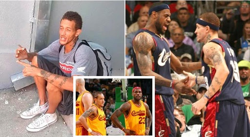 LeBron James' former teammate Delonte now living on streets and asking for money