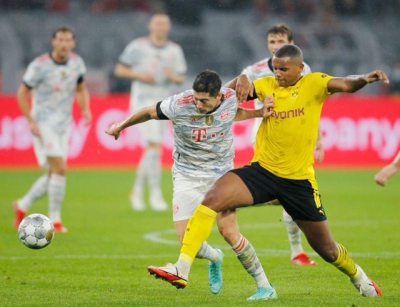 Lewandowski double downs Dortmund as Bayern Munich win Super Cup