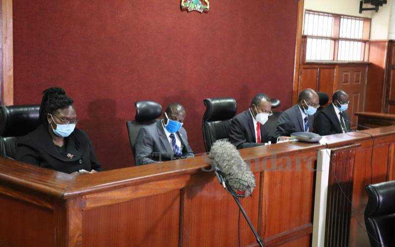 Magistrates and Judges call for safety of five colleagues after BBI judgment